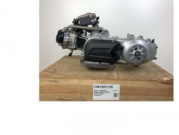 Engine -PIAGGIO- Piaggio MP3 125 4-stroke 4V LC, Euro3 2008-2011 (ZAPM63100)