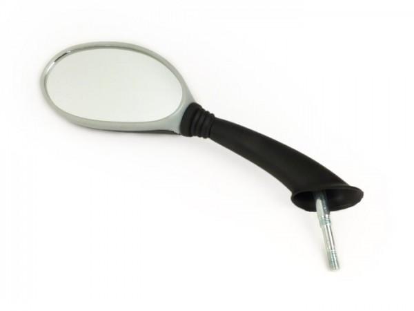 Espejo -CALIDAD OEM- Vespa ET2/ET4 - gris/negro - izquierda