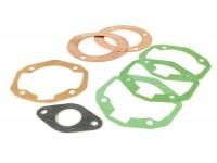 Kit guarnizioni cilindro -PARMAKIT 195cc 3 travasi- Vespa PX125, PX150, GTR125 (VNL2T), TS125 (VNL3T), Sprint150 (VLB1T)