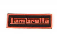 Aufnäher - Patch -LAMBRETTA- orange - 90x30mm