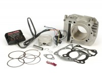 Zylinder -MALOSSI 185 ccm I-Tech (CDI nicht in Drosselklappengehäuse)- Piaggio  125-150 ccm 4T (AC) 3V ie (Euro 3) - VESPA LX 3V (EUROPA -> 06/2013), Primavera 3V (EUROPA/US), Sprint 3V