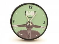 "Horloge murale rond -VESPA Ø=25cm- ""Go Vespa"""