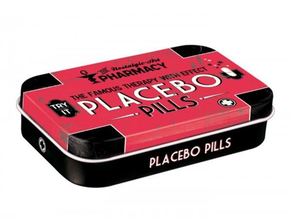 "Pillendose, XL -Nostalgic Art- ""Placebo"" - 6x9.5x2cm"