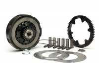 Clutch incl. primary drive set  -BGM Pro Superstrong, type Cosa2/FL- primary gear BGM Pro 62 tooth (straight) - Vespa PX80, PX125, PX150, PX200, Cosa, T5, Sprint150 Veloce, Rally, GTR, TS125, Super150 (VBC) - 25/62 tooth (2.48)