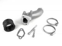 Intake manifold -POLINI 2-stud, rotary valve- Vespa V50, PV125 - CS=34mm