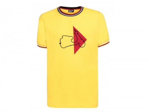 "T-Shirt -VESPA ""Modernist""- gelb - XXL"