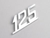 Badge legshield -LAMBRETTA- 125 - LIS 125