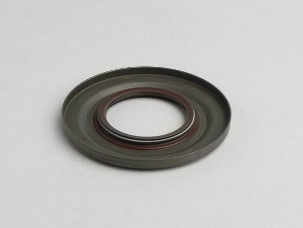 Wellendichtring 31x62,1x5,8/4,3mm -CORTECO Metall, braun (verwendet für Kurbelwelle Antriebseite Vespa PX (ab Bj. 1984), T5 125cc, Cosa)