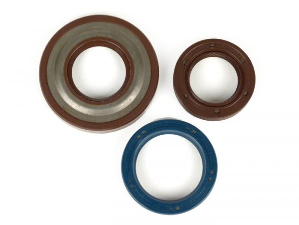 Oil seal set engine -CORTECO FKM- Vespa PK50 XL, PK50 FL2 - (Ø 20mm cone)