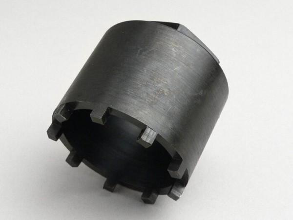 Kronenmutterschlüssel Hinterradlager -VESPA Ø=54mm, Zähne=9- Vespa GS160 (VSB1T,VSB2T), SS180 (VSC1T)