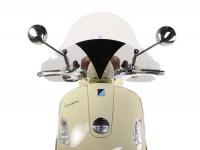 Pare-brise modèle haut - Flyscreen -AMS CUPPINI 690x425mm- Vespa GTV, GT60