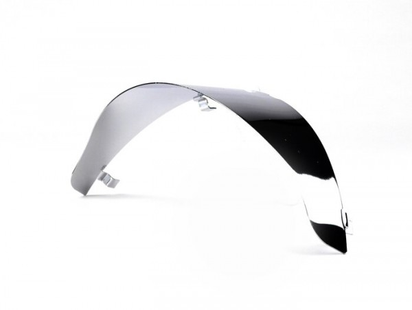 Headlight visor -CLASSIC- Vespa LX - Chrome