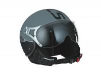 Helmet -SPEEDS Jet Fashion Soft Touch - anthracite - XS (53-54 cm)