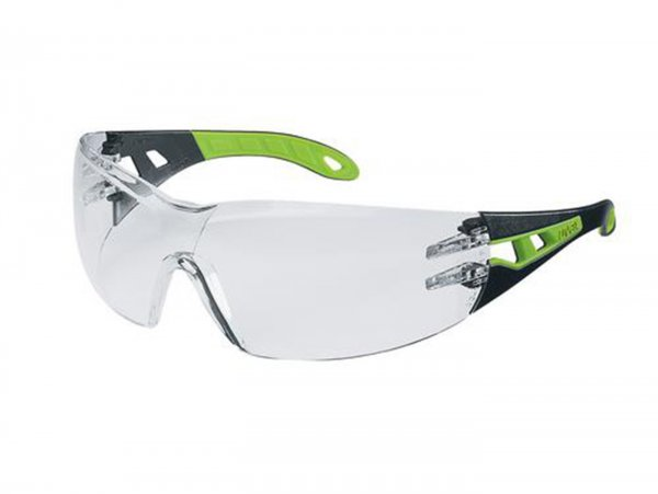 Safety glasses -UVEX, pheos- Temple goggles inside: anti-fog, outside: scratch-resistant and chemical-resistant