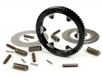 Primary gear -BGM PRO- Vespa PX200, Rally200 - incl. primary gear repair kit BGM PRO reinforced - 64 tooth (helical)