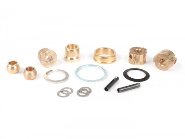 Antivibration kit handlebar -MB DEVELOPMENTS- LI (3rd series 1966-), LI S (1966-), SX, DL, GP bushing set - brass