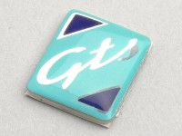 Schriftzug Kotflügelnippel -PIAGGIO- GTS - Vespa GTS 125-250