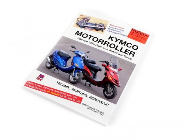 Book -Kymco Motorroller 50-125cc- Technik, Wartung, Reparatur