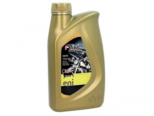 Öl - Motoröl -ENI (AGIP) I-Ride PG- 4-Takt SAE 10W-40 synthetisch - 1000ml