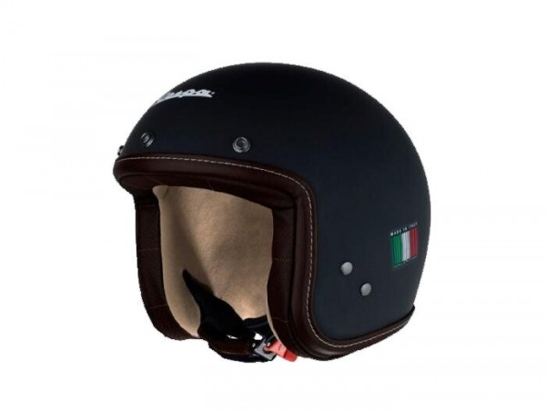 Helmet -VESPA Pxential- matt black - S (55-56cm)