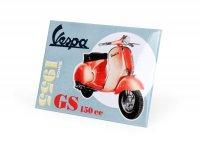 """Magnete per frigorifero -VESPA, 6x8cm- """"GS 150 Since 1955"""""""