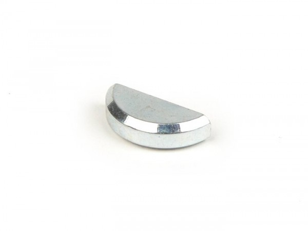 Woodruff key -PIAGGIO DIN6888- 4 x 6.5 (used for crankshaft/clutch side Vespa PX, Rally180 (VSD1T), Rally200 (VSE1T), Sprint, crankshaft/flywheel side Lambretta LI, LIS, SX, TV, DL, GP, Piaggio 250-300cc 4-stroke)