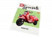 Flyer - Broschüre -SC Specials: VESPA GTS 125-300- Ausgabe 01/2019 - español
