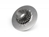 Engrenage primaire -QUALITÉ OEM, Vespa type 6 ressorts (PX80, PX125, PX150)- pour pignon élastique d'origine de 67/68 dents (dents hélicoïdales) - 20 dents (hauteur totale=32,5mm, hauteur pignon=11mm)