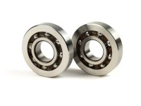 Ball bearing set for crankshaft -MALOSSI MHR Piaggio/Gilera 50-80cc- BB1 3055B (20x52x12mm) - C3 polyamide, carbonitrided inner ring, smaller outer ring (20x52x10-12) - (used for crankshaft Piaggio/Gilera automatic 50-80cc 2-stroke)