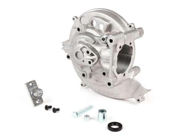 Motorgehäuse -POLINI- Speed Engine, Kontaktzündung - Piaggio Ciao, Boss, Boxer, SI, Grillo, Bravo, Superbravo, PX