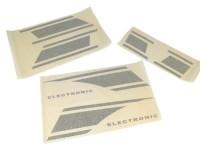 Sticker set -VESPA- VespaRally200 (VSE1T) Electronic - black