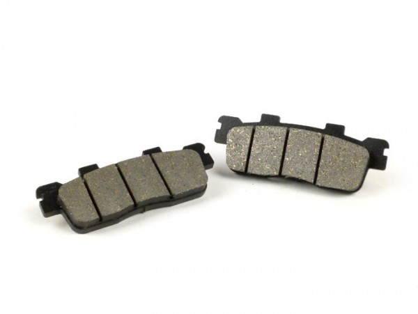 Brake pads -POLINI 90.0x33.3mm- Kymco Downtown 125I (SK25), Kymco Downtown 200I (SK40, 2010-), Kymco Downtown 300I (SK60, 2009-2010), Kymco Downtown 300I (SK60A, 2011-2012), Kymco People 300 GTI (BF60), Kymco Super Dink 125 I (SK25)