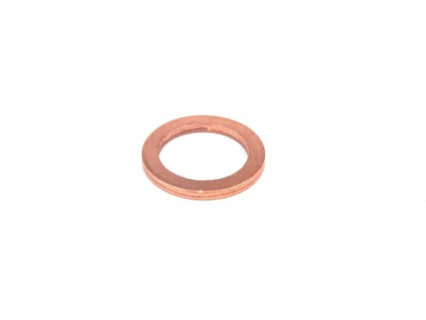 Copper washer -DIN7603- 14x20x2mm - used as gasket for spark plug/cylinder head M14 (spark plug type NGK B, Bosch W)
