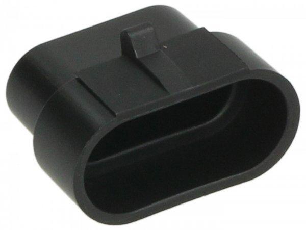 Abdeckkappe für Diagnosestecker -PIAGGIO- Vespa GTS 125 (ZAPMA3100, ZAPMA3200), Vespa GTS 150 (ZAPMA3200, ZAPMA3100), Vespa GTS 300 (ZAPMA3300), Vespa GTS Super 125 (ZAPMA3100, ZAPMA3200), Vespa GTS Super 300 (ZAPMA3300), Vespa GTV 300 (ZAPMA3302), V