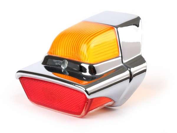 Cristal piloto trasero -CALIDAD OEM, Hella Repro- Vespa GS160 (GS4, VSB1/2 - modelos alemanes), Vespa GL 150 (VLA1T - modelos alemanes)