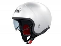 Helmet -NOLAN N21 Classic- open face helmet, white - XXS (51-52cm)