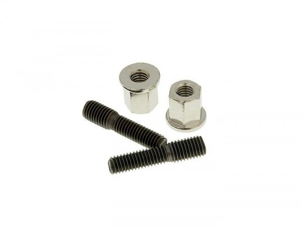 Stud -M6/M7 x 30mm- (used for exhaust/cylinder) - 2 pieces