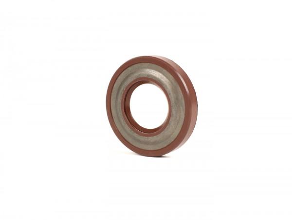 Wellendichtring 22,7x47x7/7,5mm -CORTECO FKM- (verwendet für Kurbelwelle Antriebseite Vespa V50, V90, SS50, SS90, PV125, ET3, PK S, PK XL - Getriebeeingangswelle Piaggio 125-180 ccm 2-Takt, Piaggio 125 ccm 4-Takt (1.Generation))