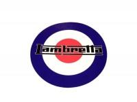 Aufkleber -LAMBRETTA Target Lambretta Ø=200mm-