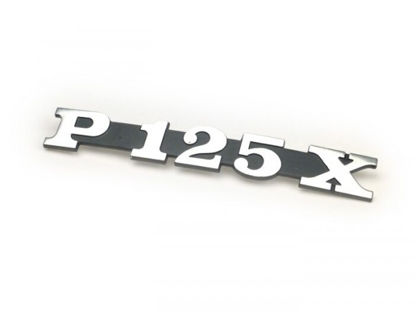 Schriftzug Seitenhaube -PIAGGIO- P125X - Vespa P125X