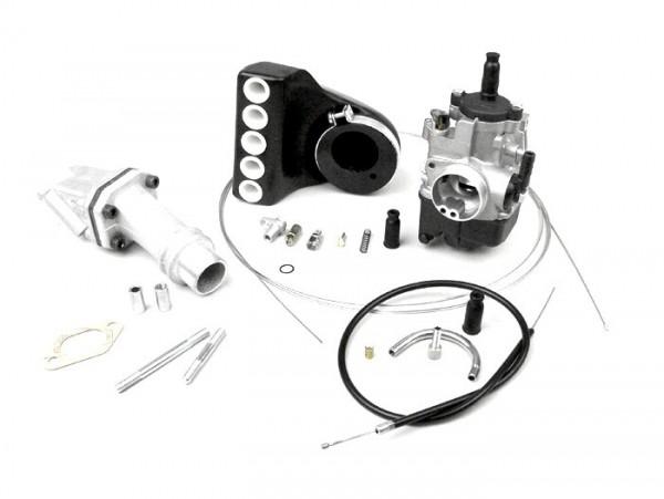 Kit carburador -POLINI 2 agujeros, 24mm Dellorto PHBL, lámina- Vespa PK S