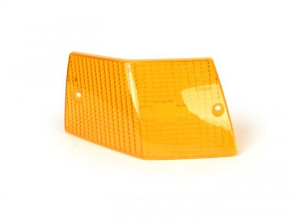 Blinkerglas -SIEM- Vespa PX80, PX125, PX150, PX200, T5 125cc hinten links - Orange