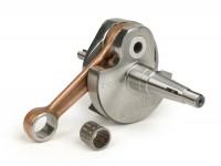 Crankshaft -POLINI Racing (rotary valve) 57mm stroke- Vespa PX200, Cosa 200