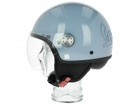 Helmet -VESPA Visor 3.0- blue incanto (279A) - XS (52-54cm)