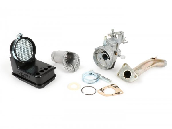 Kit carburador -DELLORTO 3 agujeros, 19/19mm SHB- Vespa PK XL