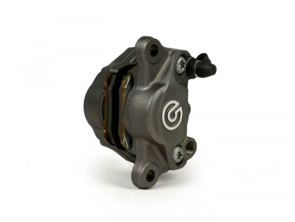 Bremszange -BREMBO, 2-Kolben, Ø=34mm (P34G)- Titan Style - Ducati 1098, 1098R, 1098S, 1198, 1198S, Streetfighter 1098,1098S
