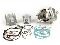 Tuningkit -PIAGGIO 180 cc- Piaggio LC 2-stroke Maxi - 125 cc LC to 180 cc conversion - carburator Mikuni