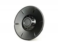 Abdeckkappe Radmutter / Bremstrommel Ø=106mm -PIAGGIO- Vespa 946 - vorne - schwarz matt