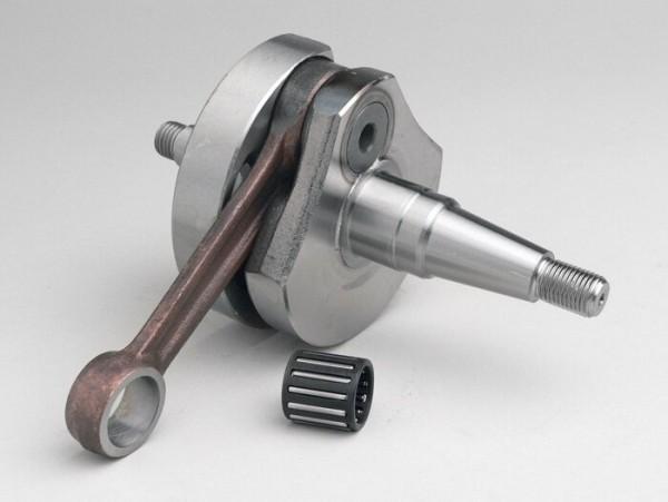 Cigüeñal -STANDARD (válvula rotativa), carrera 51mm, biela 97mm- Vespa PK125 XL2, PK125 ETS (cono Ø=24mm)