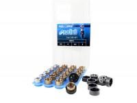 Juego rodillos -POLINI de primera calidad 15x12mm- 3,5-4,0-4,5-5,0g
